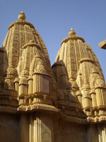 Jain temple at Golden Fort, Jaisalmer