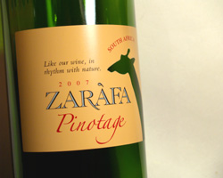 Zarafa 2007 Pinotage