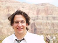 Those blurry rocks behind me? Grand Canyon.