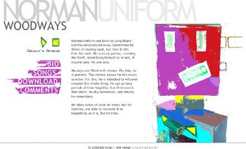 Screenshot of www.normanuniform.net