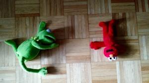 Kermit Elmo Macabre